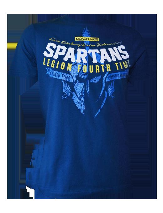 Fourth Time T-Shirt Spartans